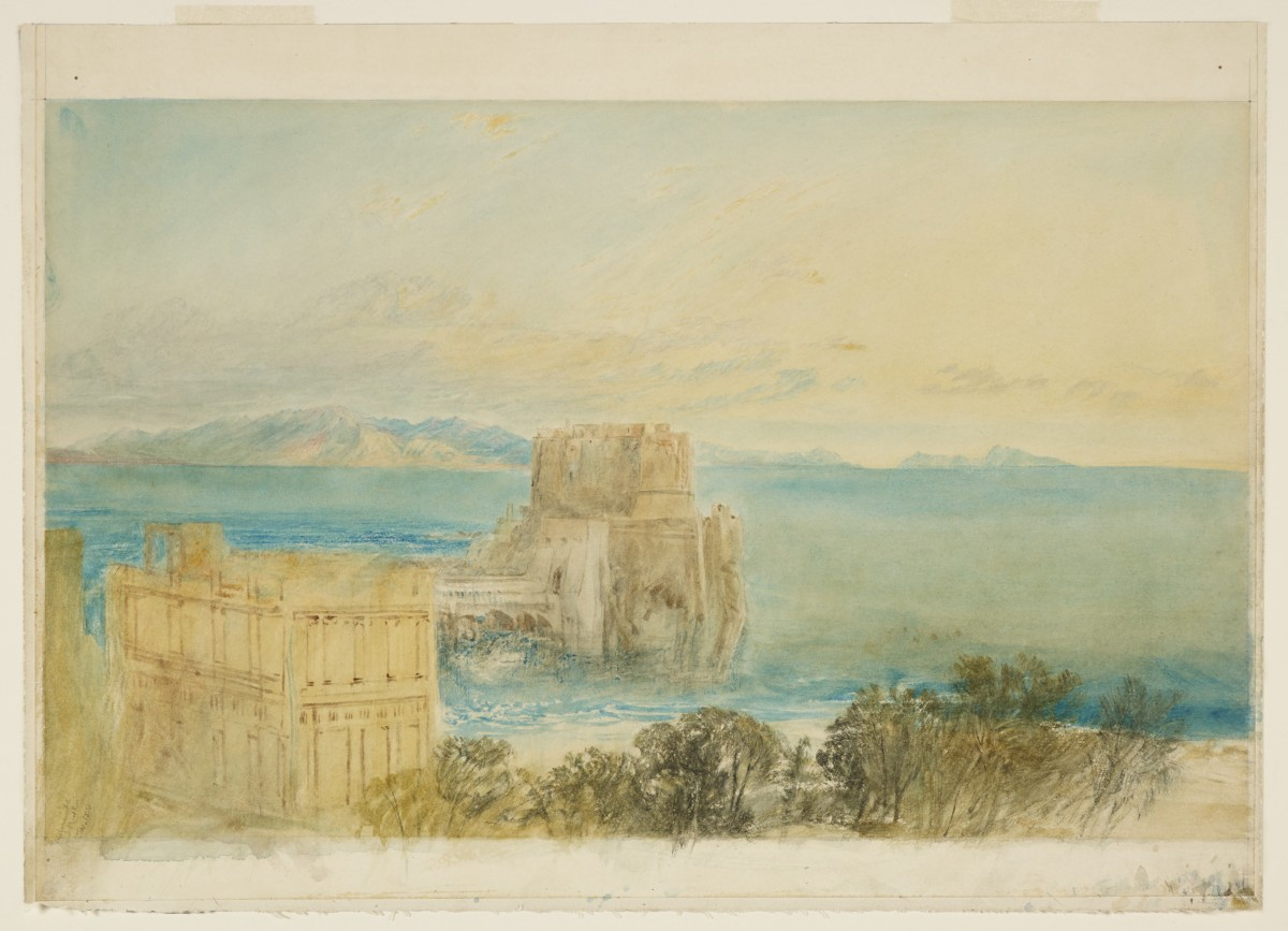 The Island of Capri Seen from Naples