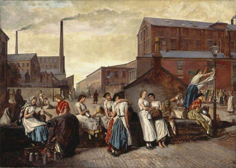The Dinner Hour, Wigan