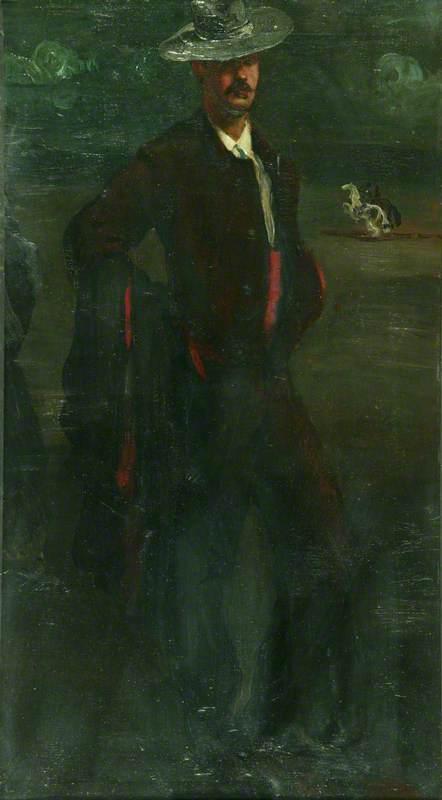Ignacio Zuloaga as a Torero