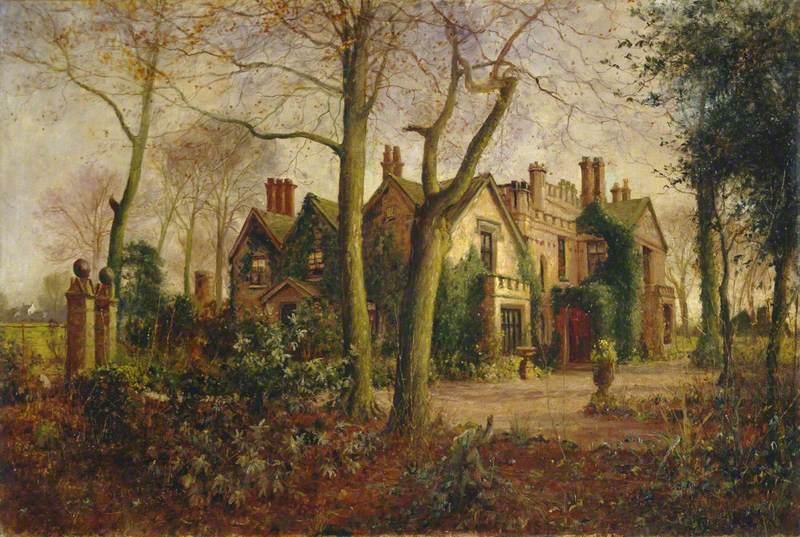 Late Autumn: Irlam Hall, near Manchester