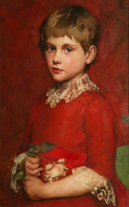 A Girl (Bertha Edgar)