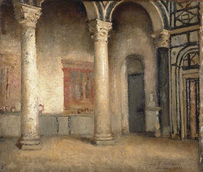Interior of San Miniato, Florence