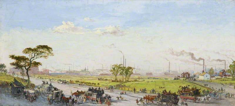 Manchester from Belle Vue