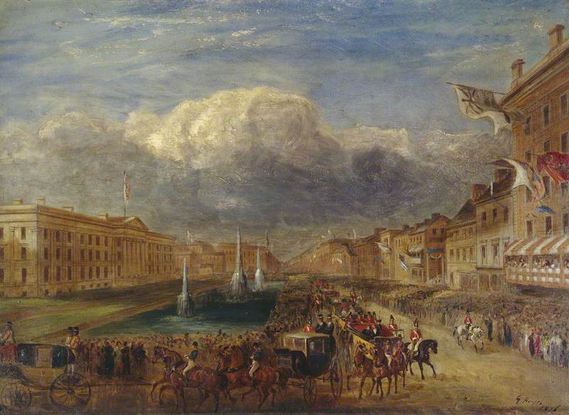 The Visit of Queen Victoria and Prince Albert to Manchester in 1851