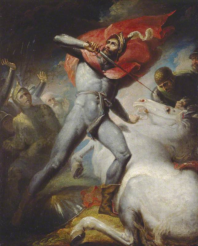 The Earl of Warwick's Vow Previous to the Battle of Towton
