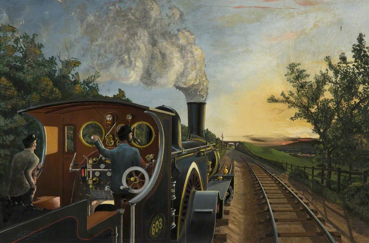 Great Eastern Railway Locomotive No. 603*
