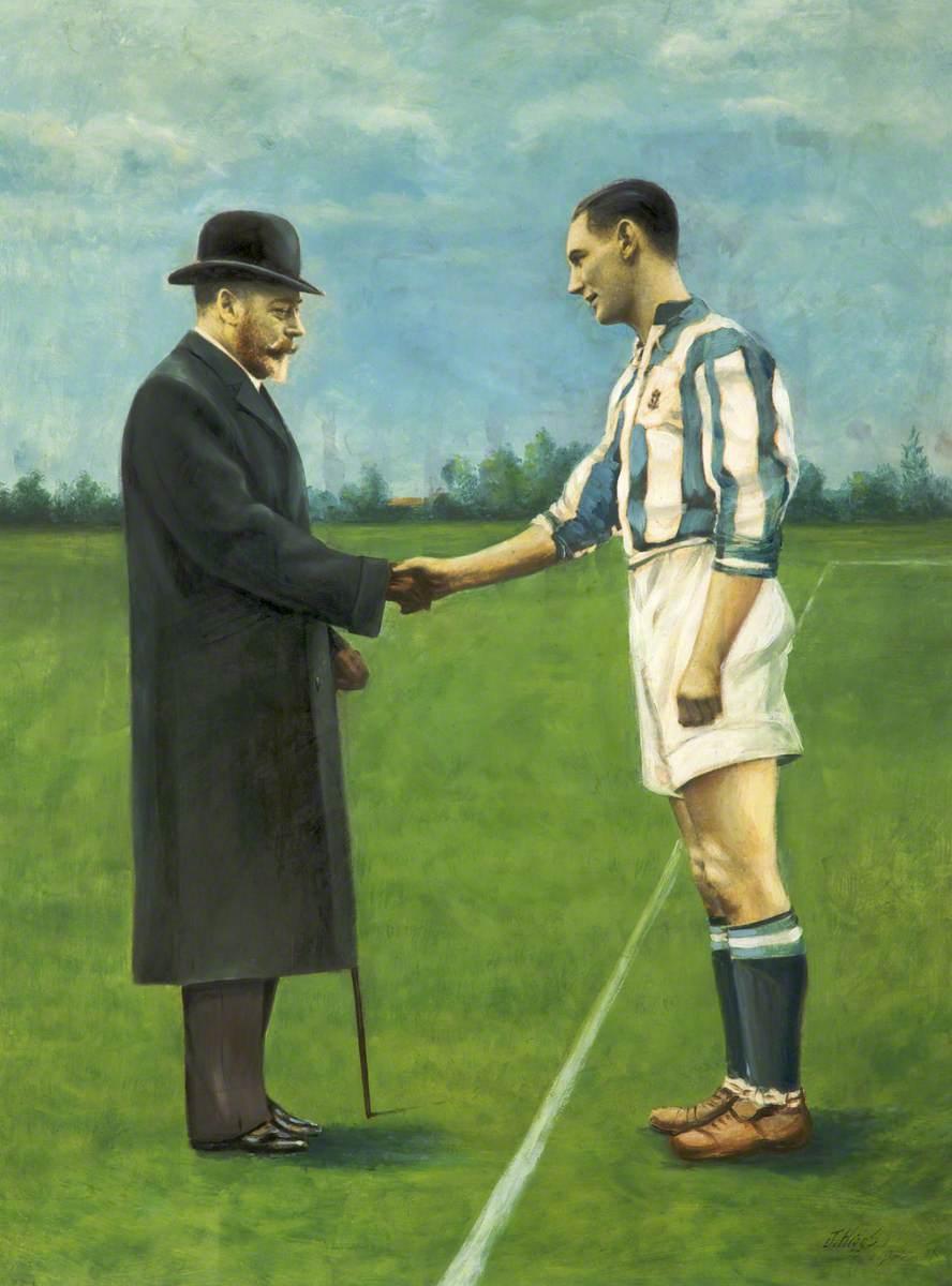 A Huddersfield Town Footballer Meets George V