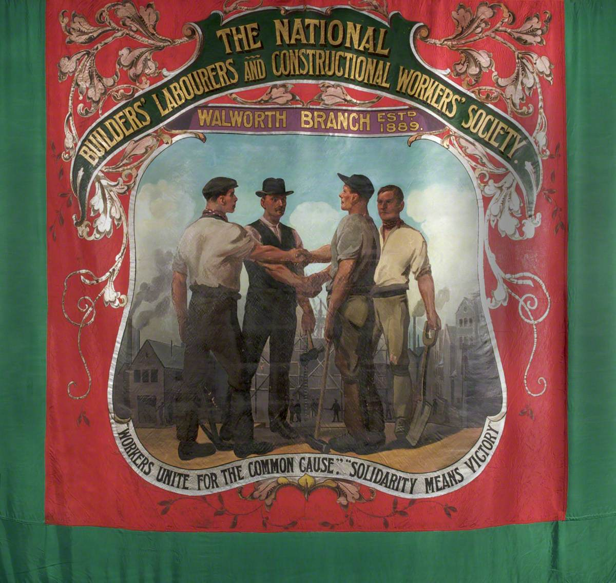 National Builders Labourers And Construction Workers Society Banner