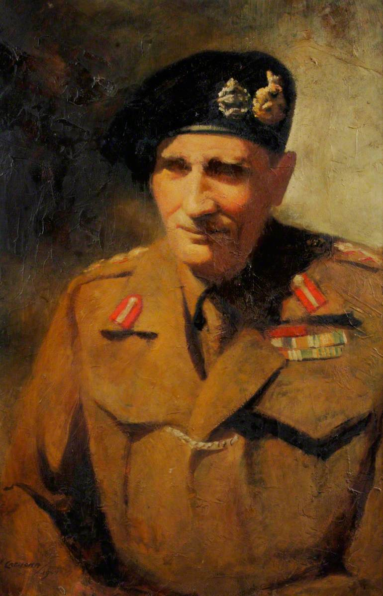 Field Marshal Bernard Law Montgomery (1887–1976), 1st Viscount Montgomery of Alamein, GCB, DSO