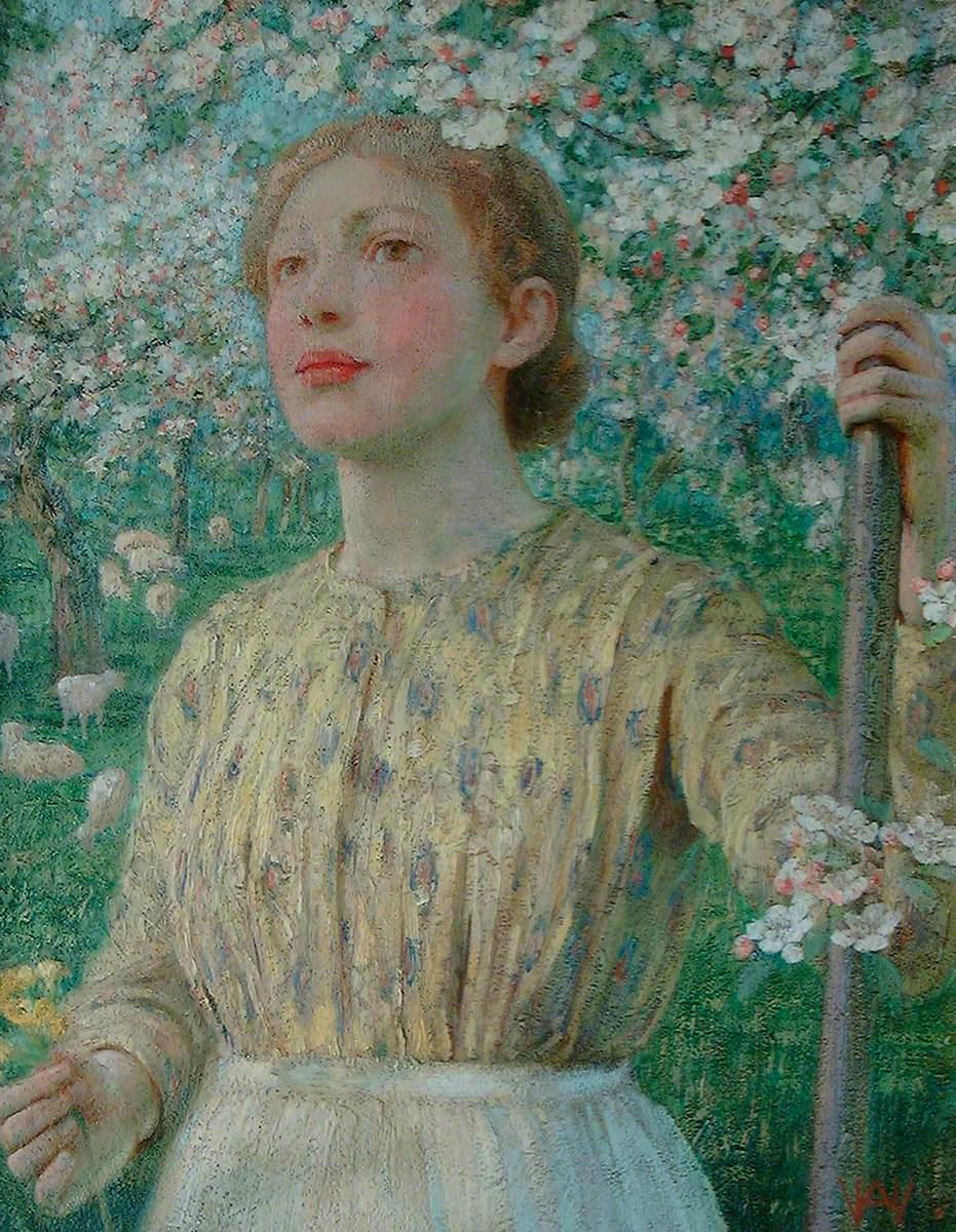 Shepherdess amongst Blossom
