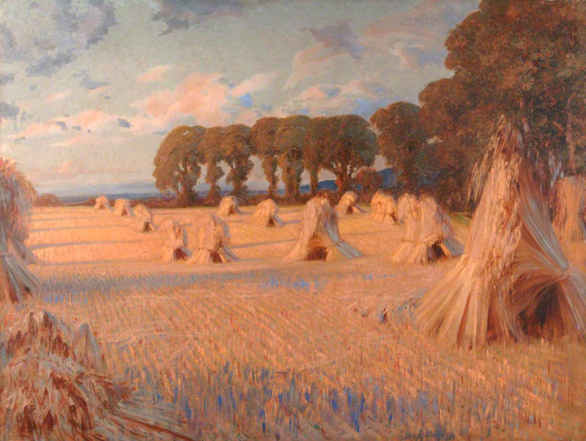 Corn Stooks, Farnham