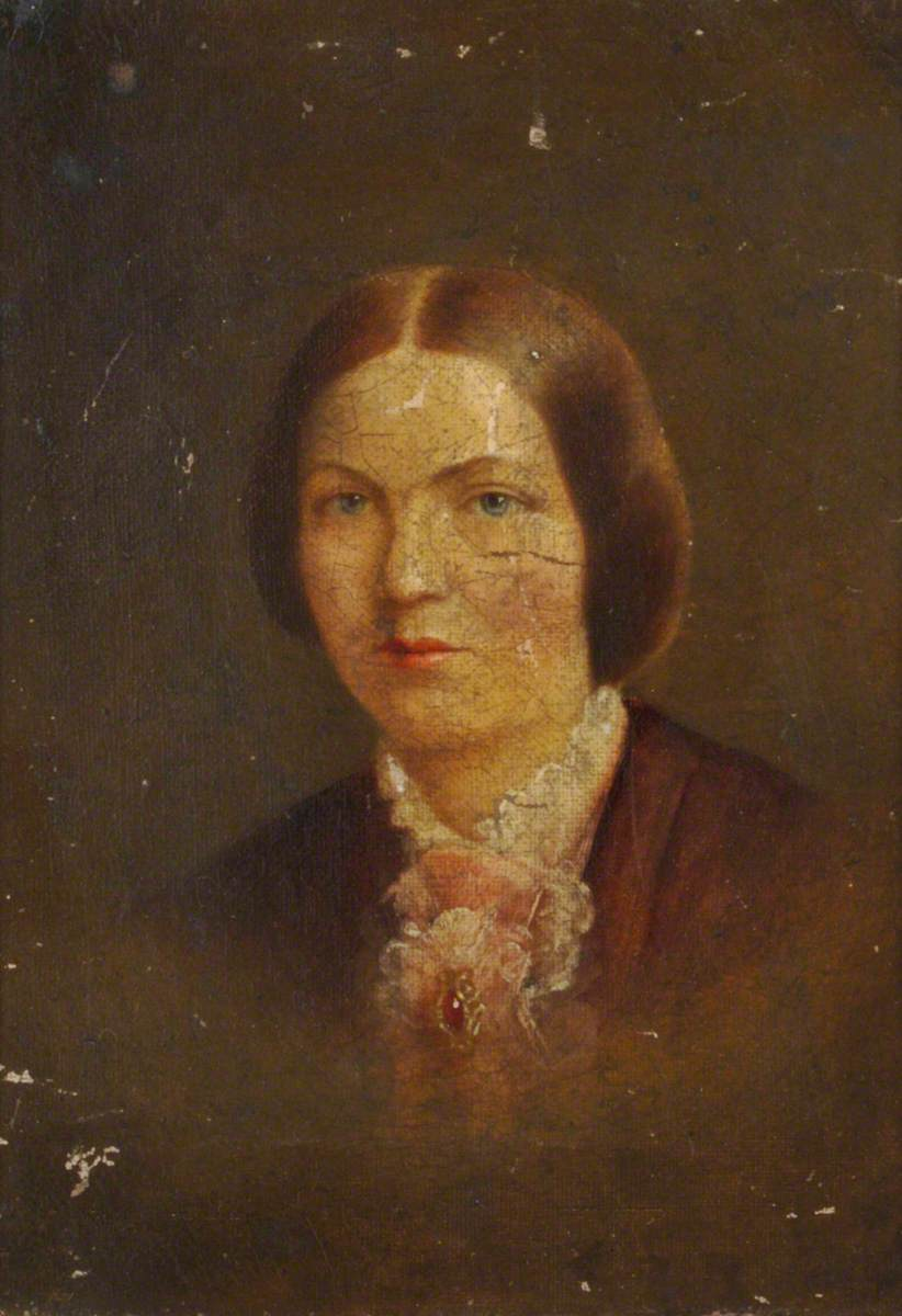 Harriet King (1823–1862), Daughter of Richard King, Wife of George Inman, as a Young Woman