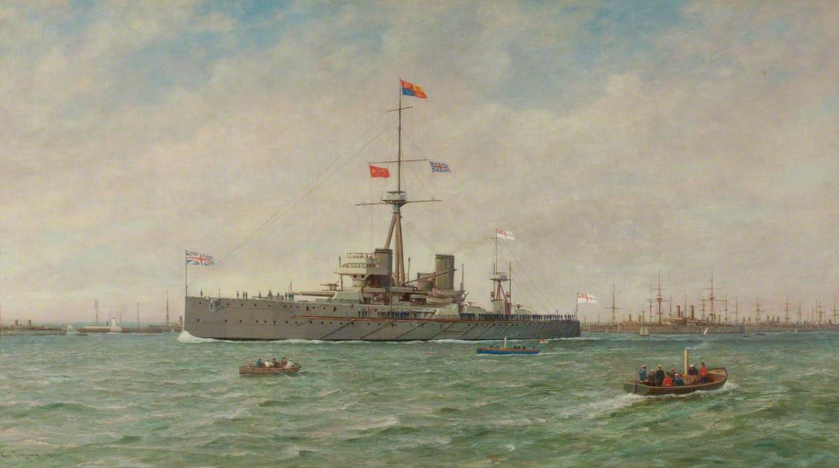 The Royal Naval Review