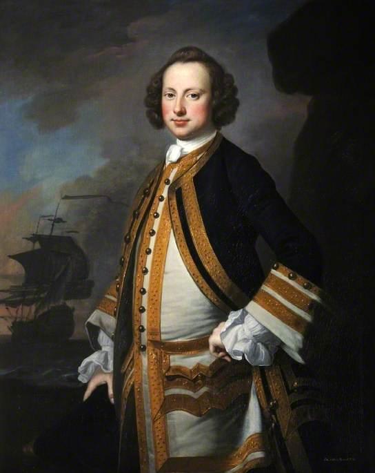 Admiral Sir George Pocock (1706–1792)