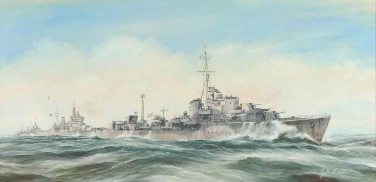 The Battle of the North Cape, 26 December 1943