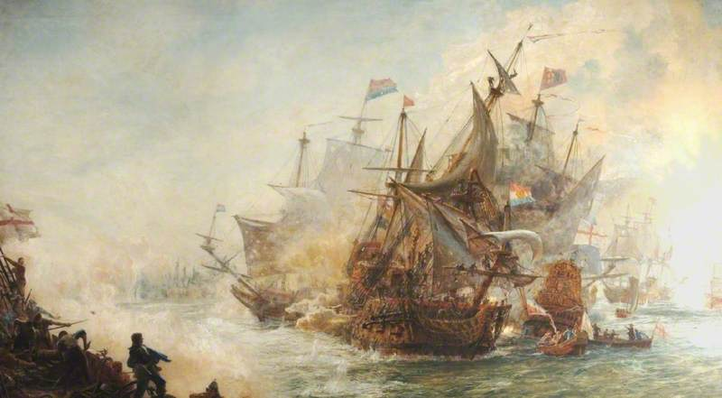 The Battle of North Foreland, June 1653