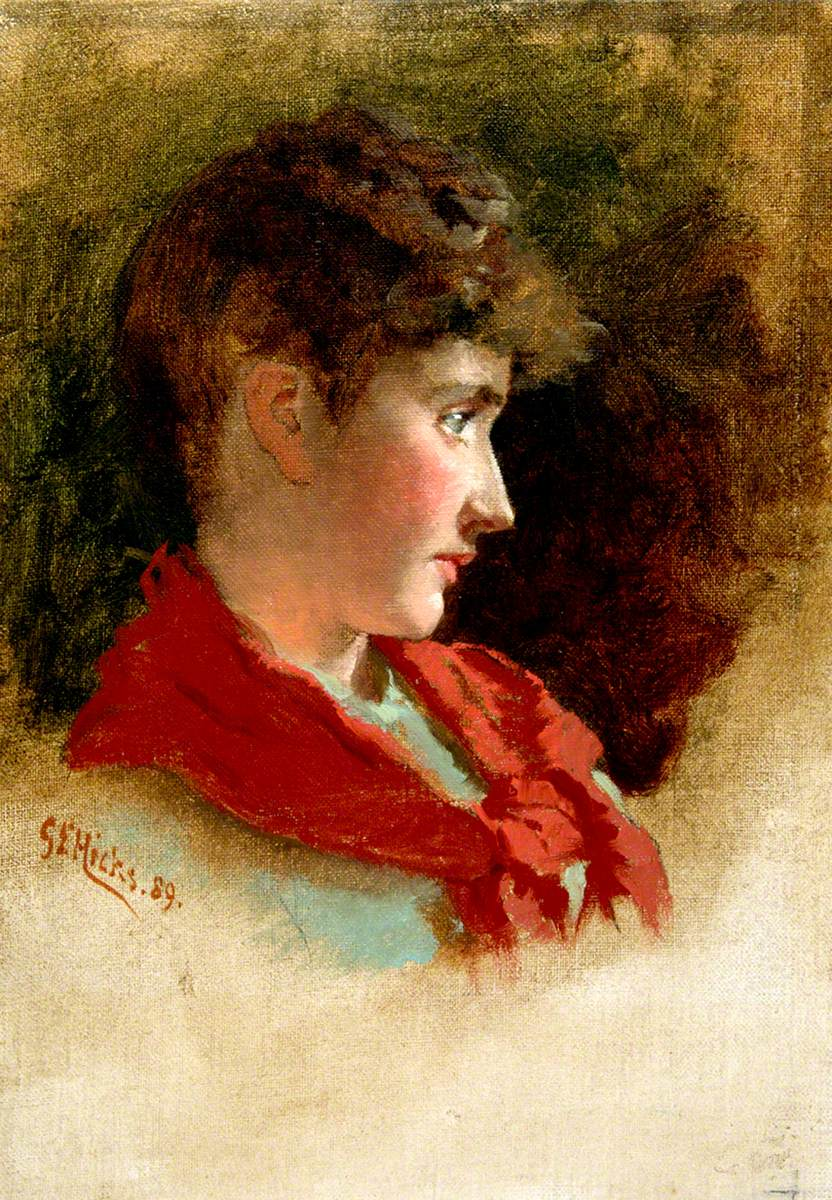 Young Woman's Head