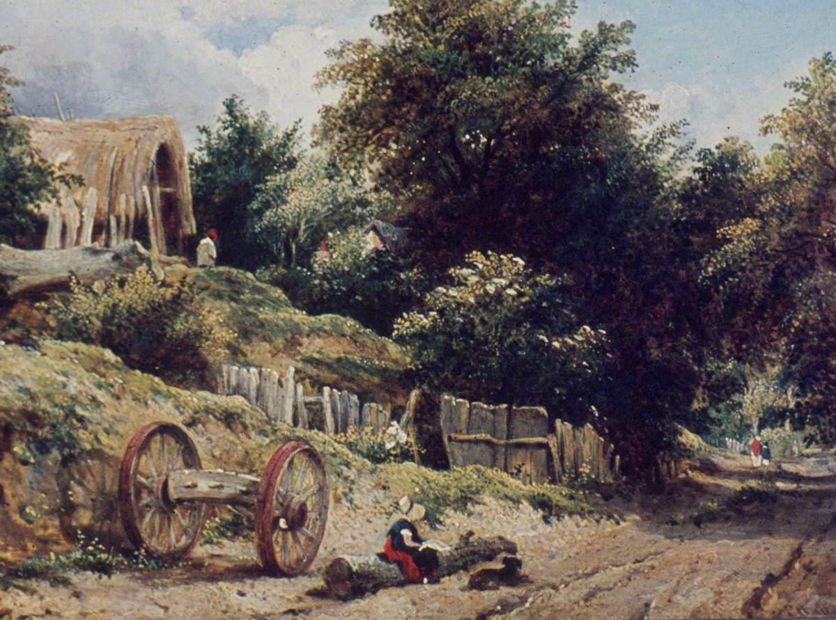 Lane near Bishopstoke, Hampshire