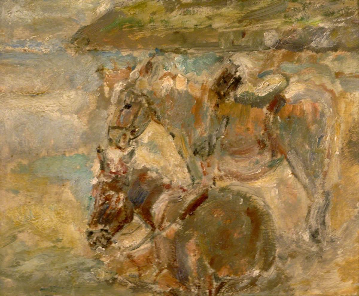 Donkeys by the Sea