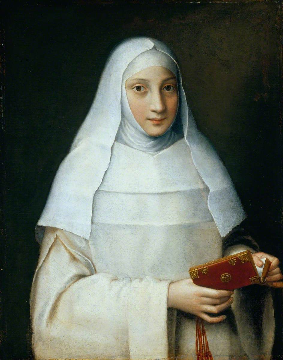 The Artist's Sister in the Garb of a Nun
