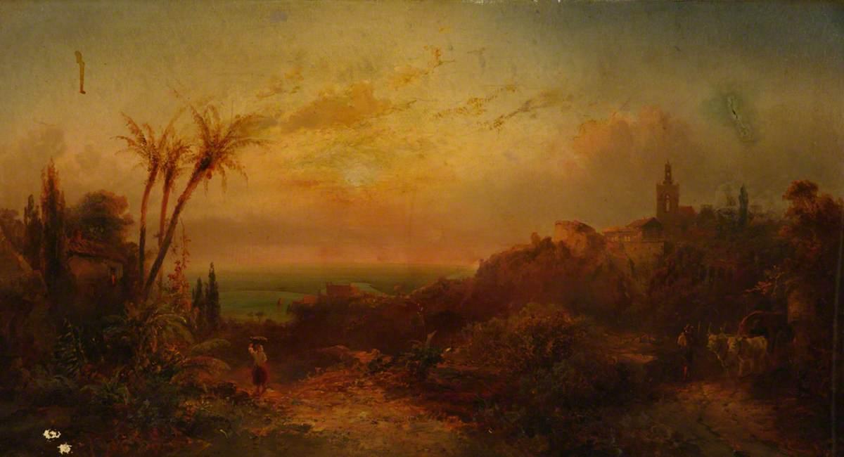 Landscape, Eastern Scene