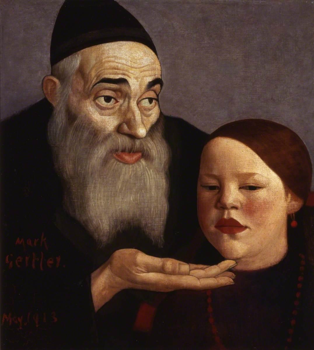 The Rabbi and His Grandchild
