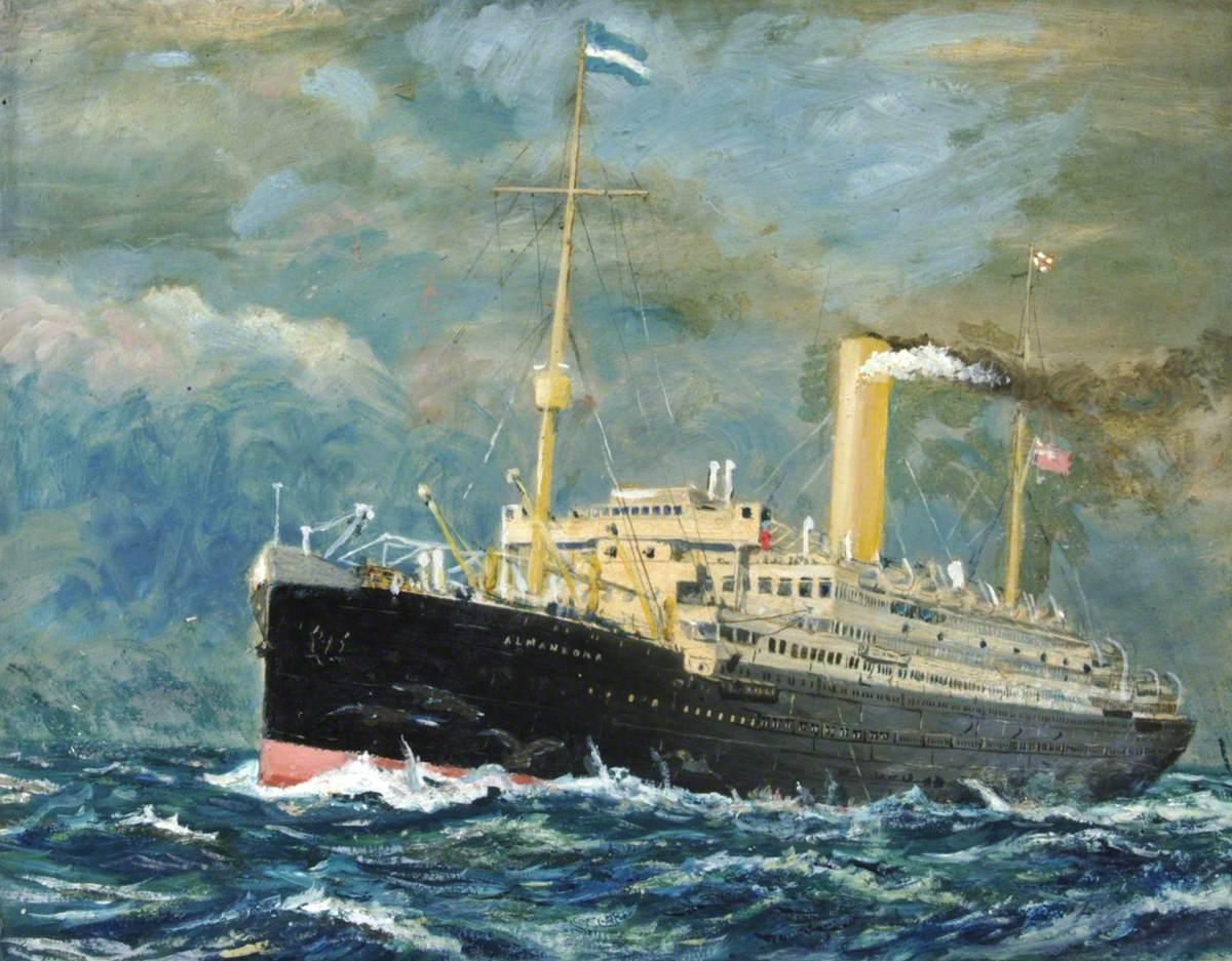 'Almanzora', Royal Mail