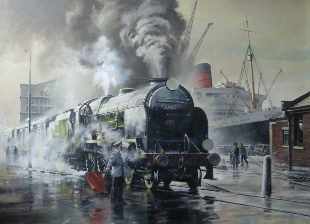 Lord Nelson Class Locomotive, 'Sir Walter Raleigh'