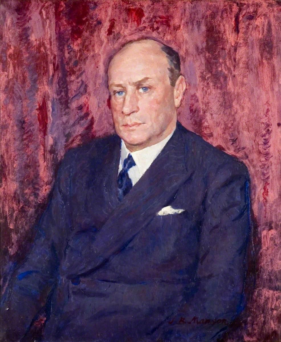 Major Armand Blackley (1891–1965), MBE, JP