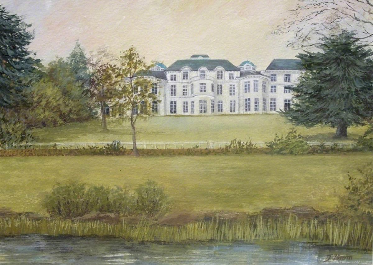 Bushey House, Rear View