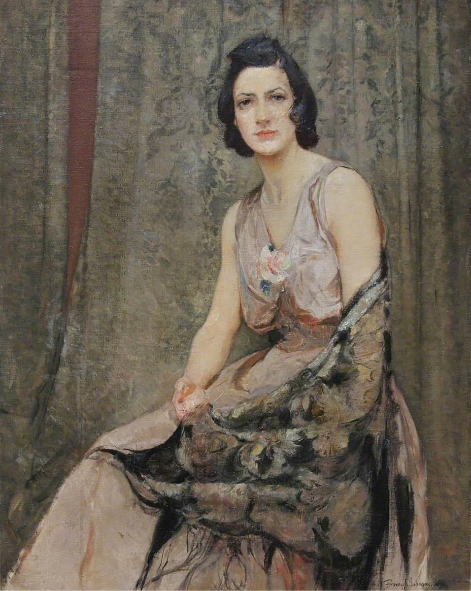 Portrait of Esther Borough Johnson