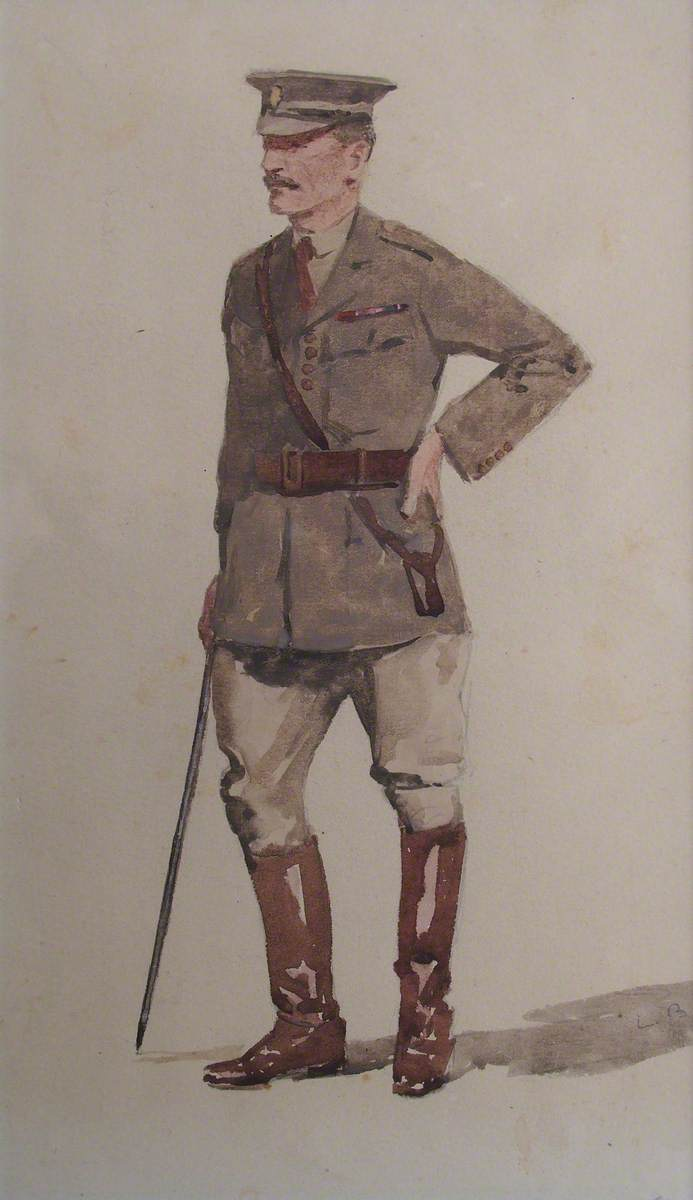 First World War Officer