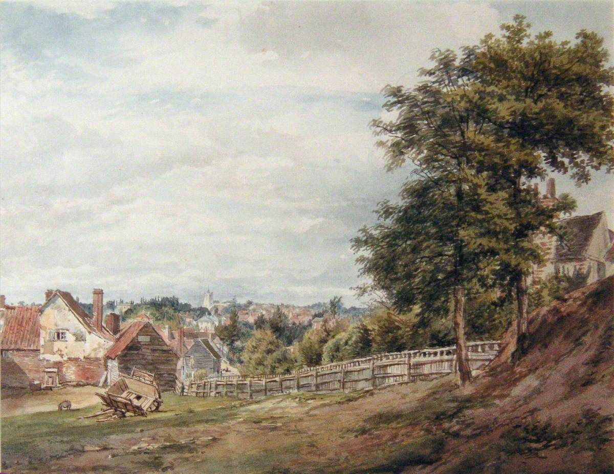 A View over Bushey from Clay Hill