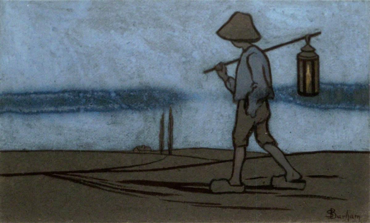 Boy with a Lantern
