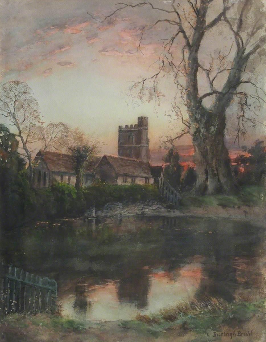 October Evening, Bushey