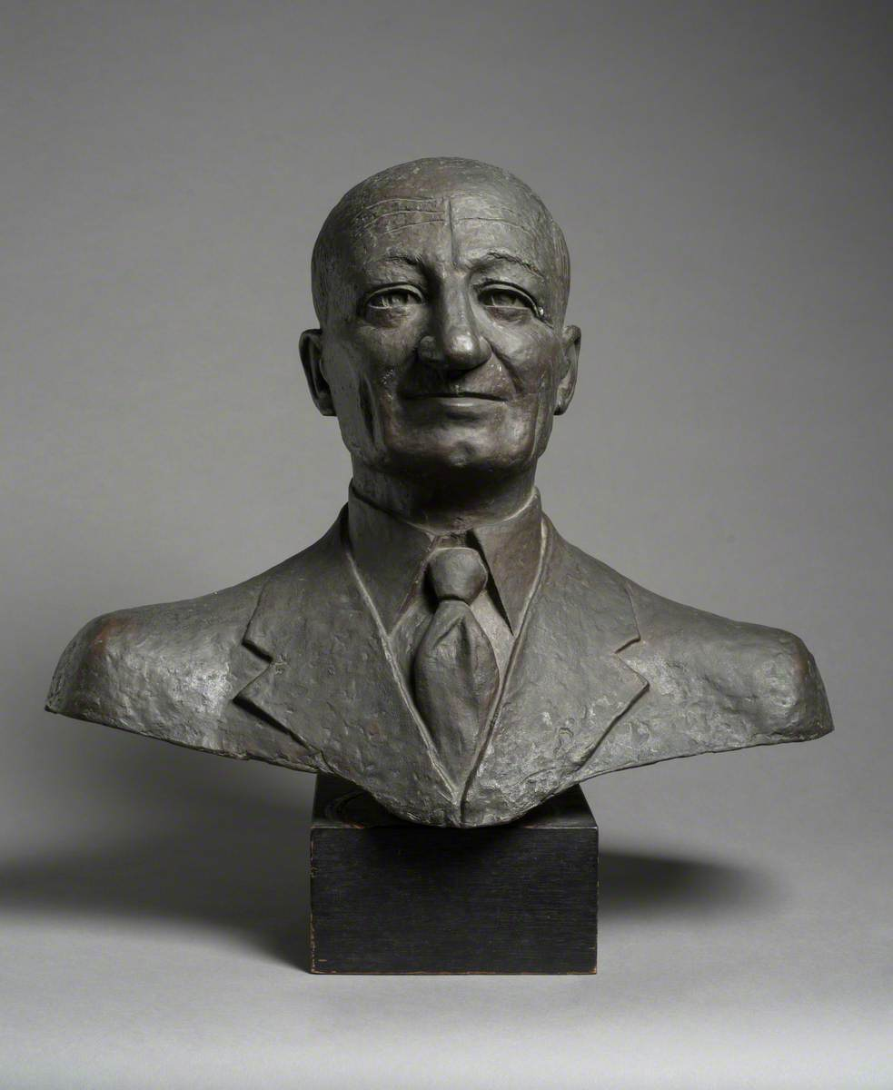 Lewis Falk (d.1954), President of the Letchworth Arts Society, Owner of the Garden City Embroidery Works, Chairman of 'The Settlement'