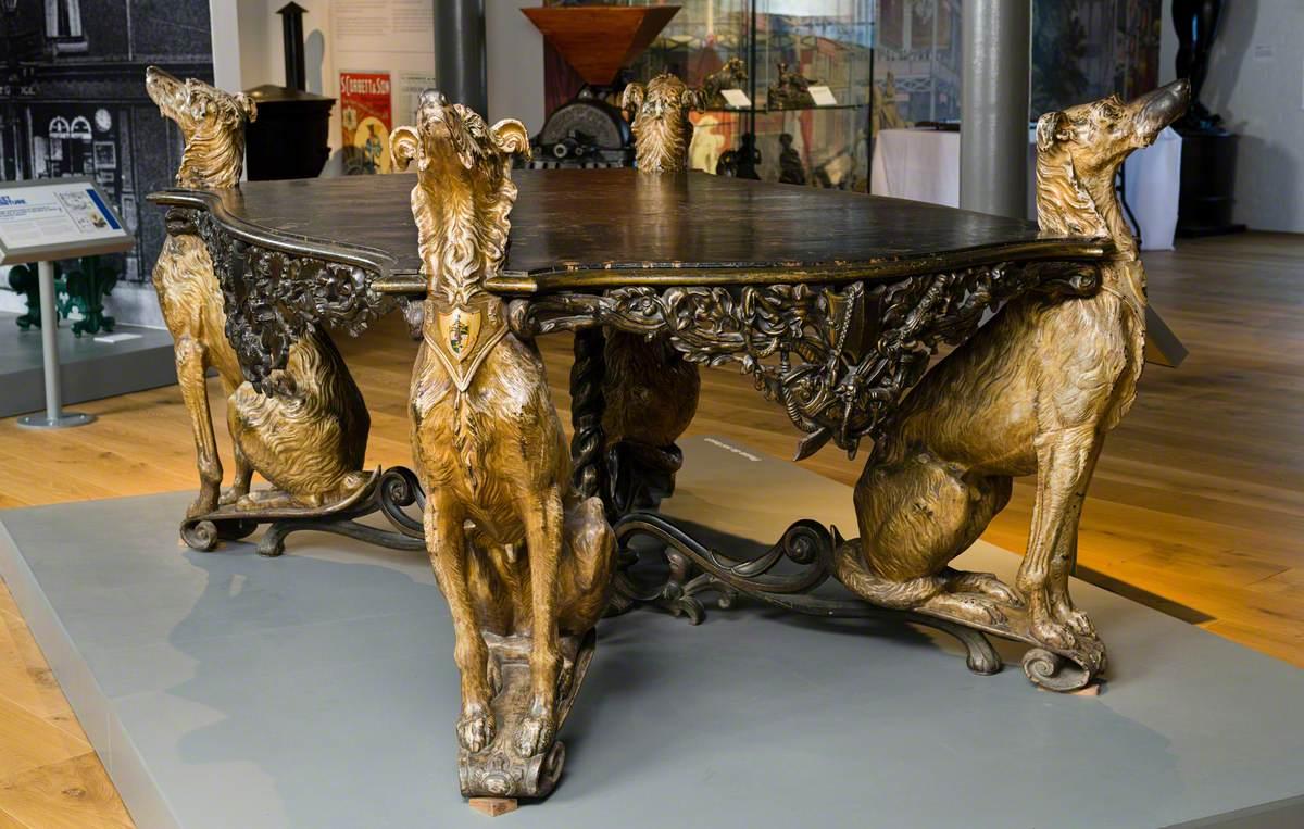 Deerhound Hall Table
