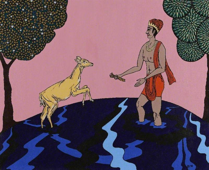 Bharata and the Fawn