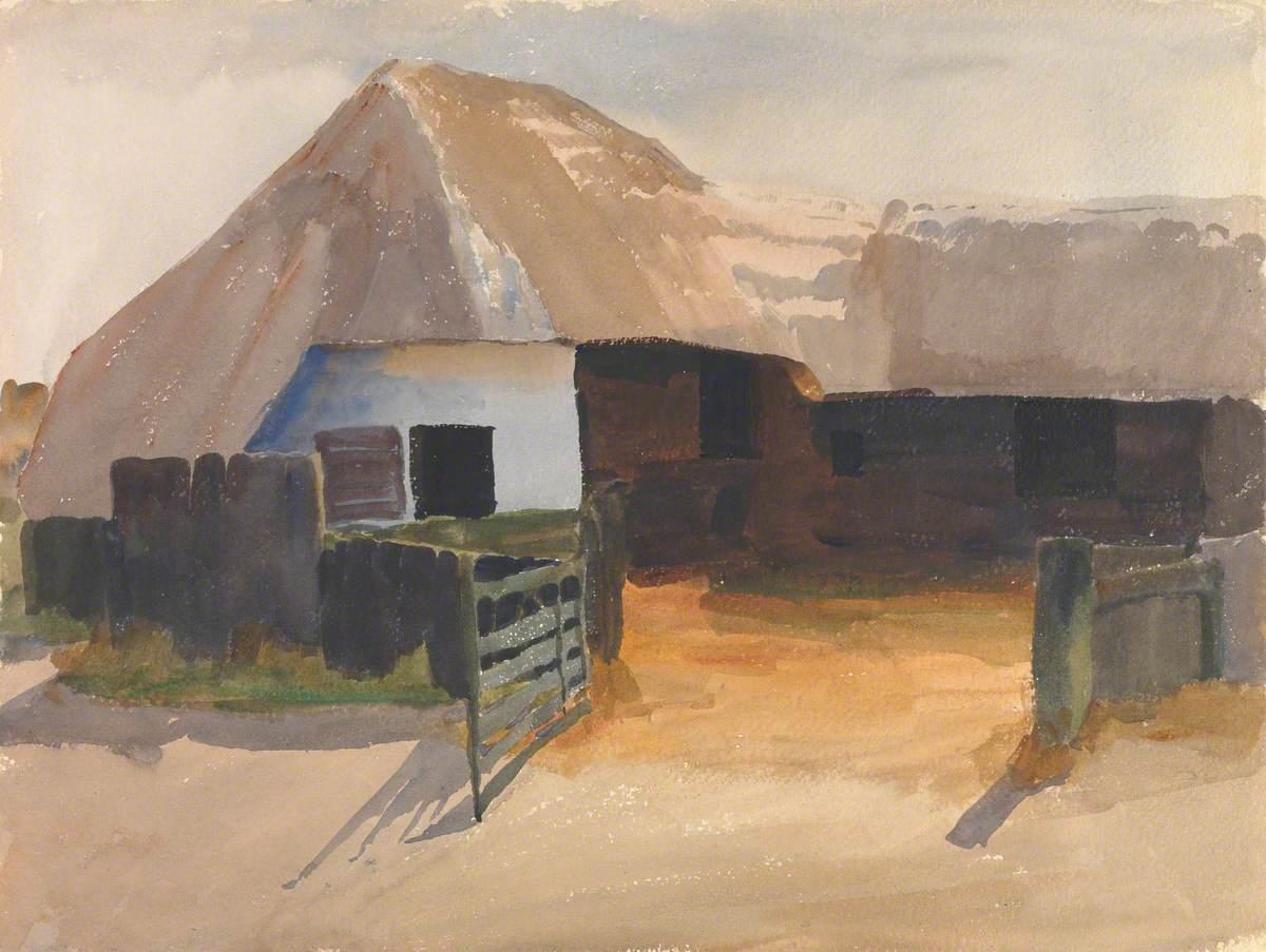 Gateway to a Farmyard