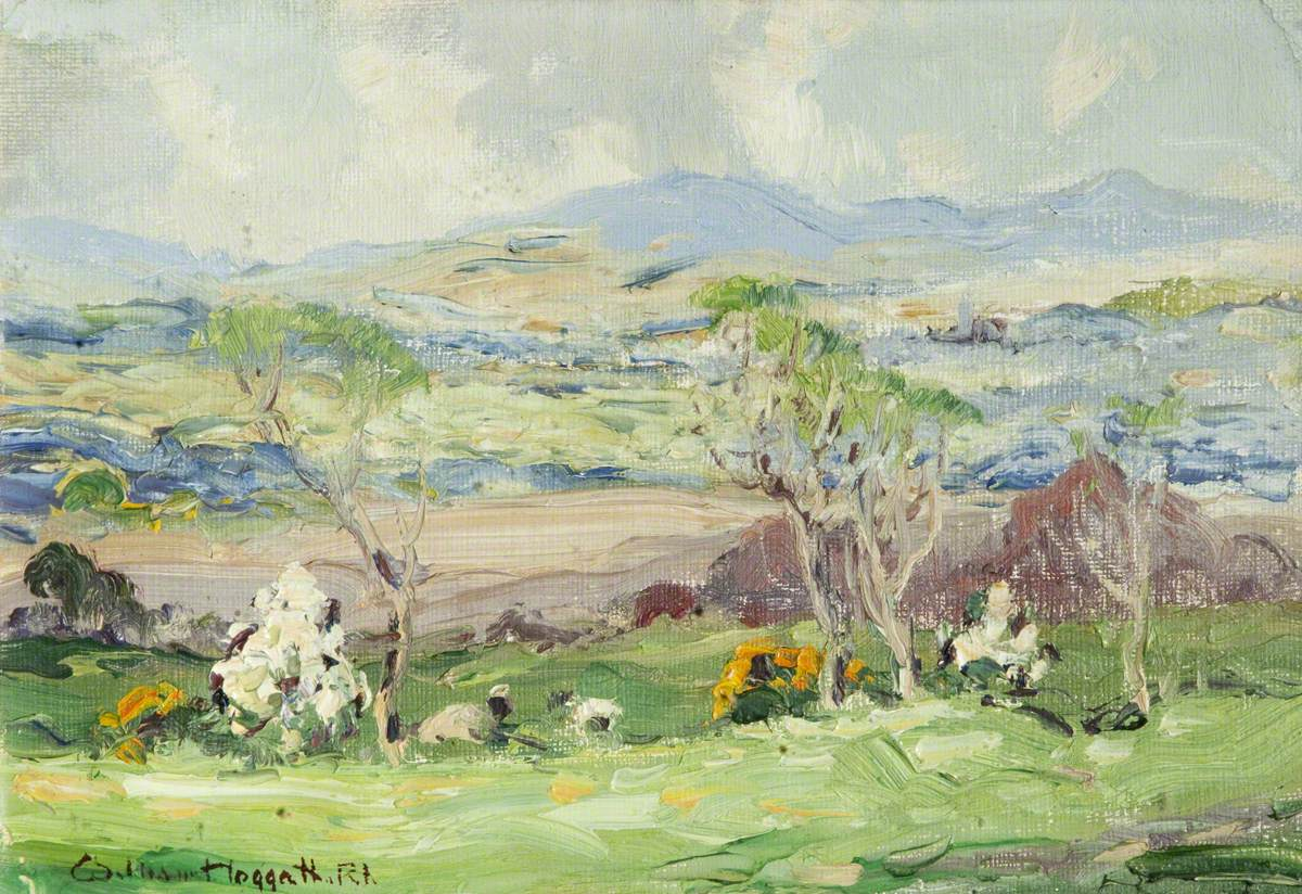 Spring Landscape, Isle of Man