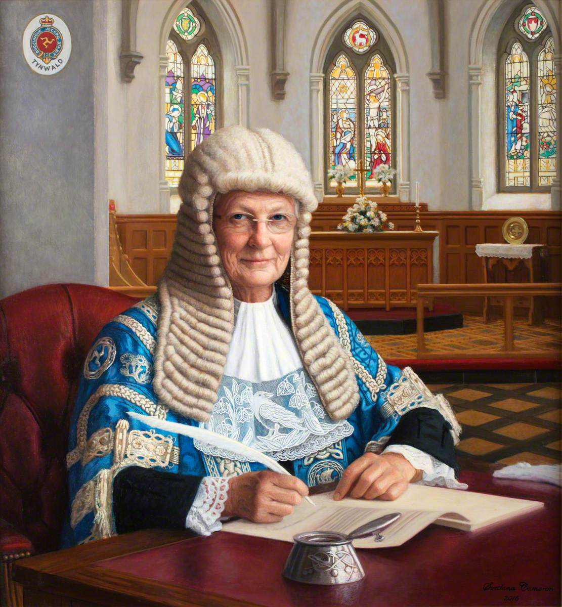 Clare Christian, OBE, President of Tynwald (2011–2016)
