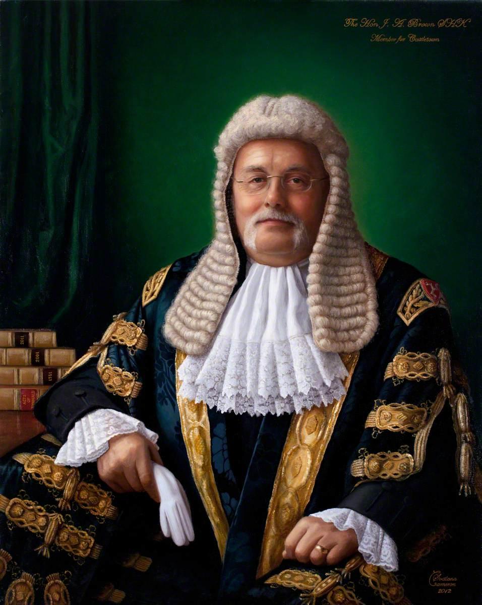 James Anthony Brown, Speaker (2001–2006)