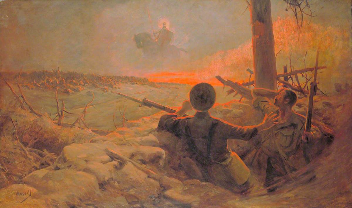 The Vision of St George over the Battlefield