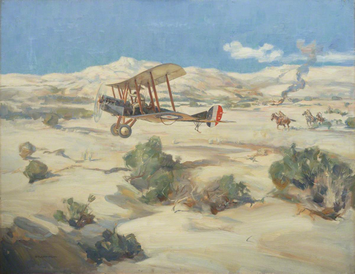 Lieutenant McNamara: Winning the VC in the Course of a Bombing Raid in the Wadi Hesi, 10 Miles East-North-East of Gaza, Palestine, 20 March 1917