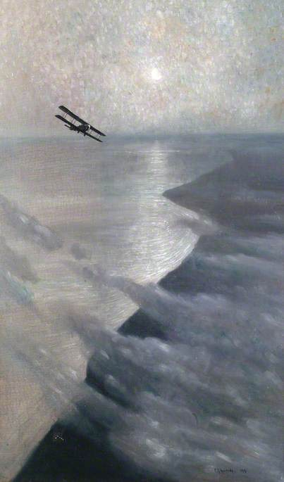 The Defence of London against Gothas with a DH4 on Night Patrol Work over the South-East Coast