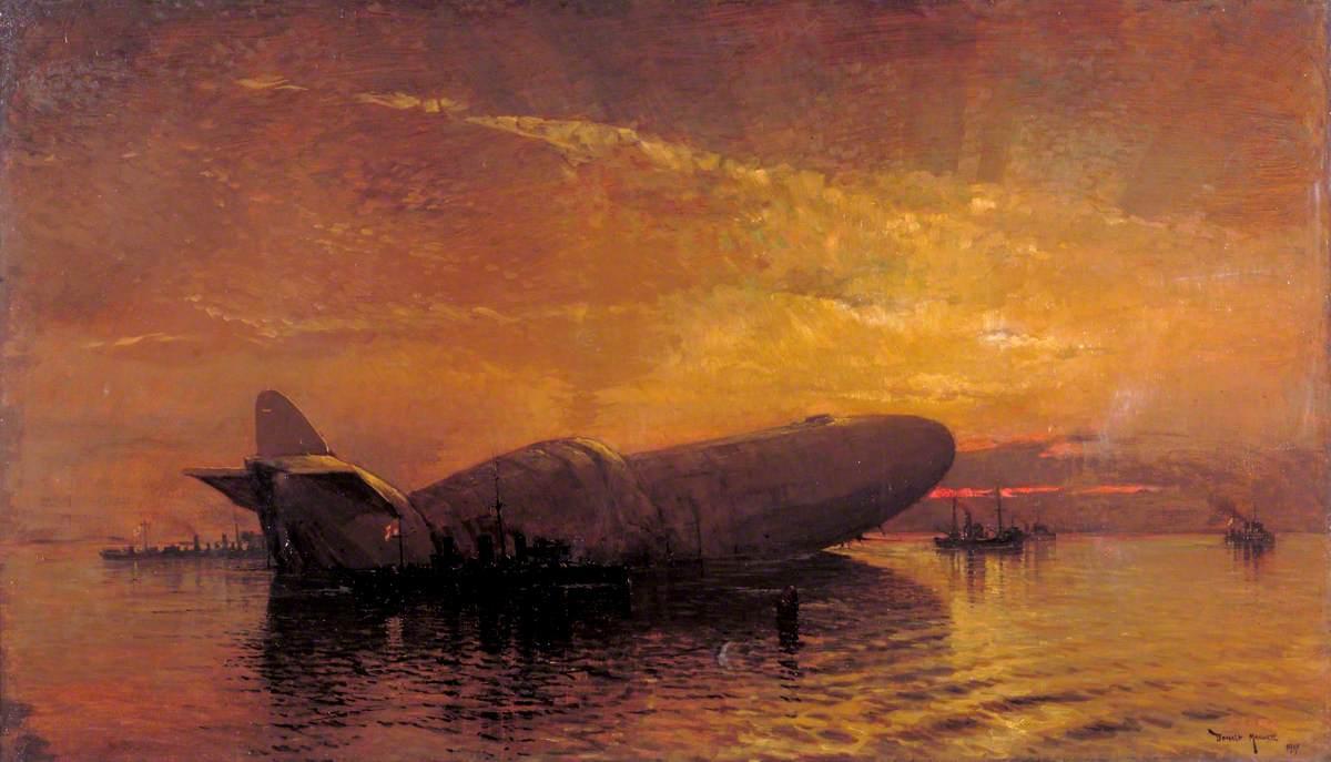 War Zeppelins Cool Art
