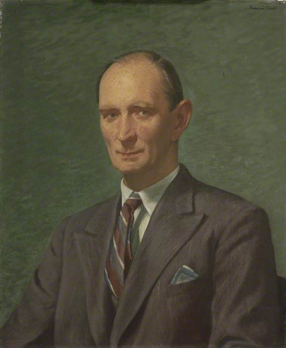 Wing Commander Eric John Hodsoll (1894–1971), CB, Inspector General, Ministry of Home Security