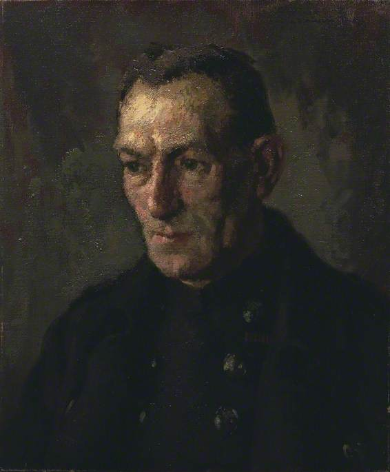 Auxiliary Fireman H. Barker, GM