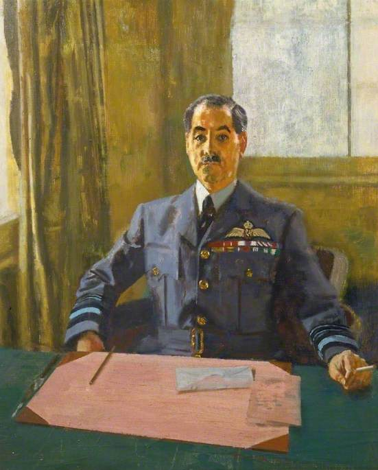 Air Marshal A. Guy R. Garrod (1891–1965), CB, OBE, MC, DFC