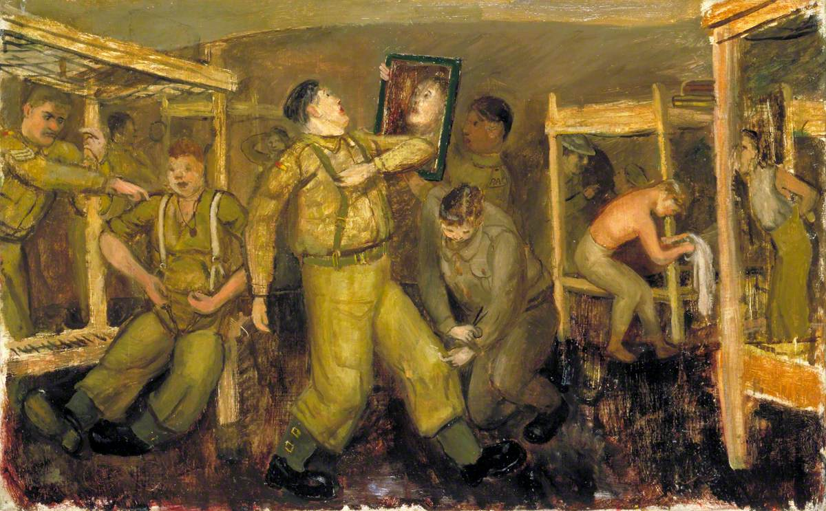 Recruits' Progress: Preparations for an Evening out
